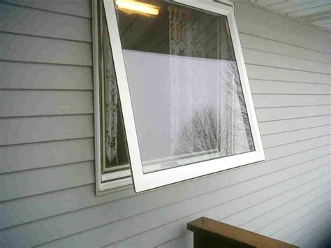 vinyl awning windows home town restyling vinyl awning window solves a problem