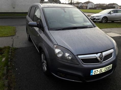 opel zafira price 2007 vauxhall zafira 2 for 1 price new nct diesel for sale