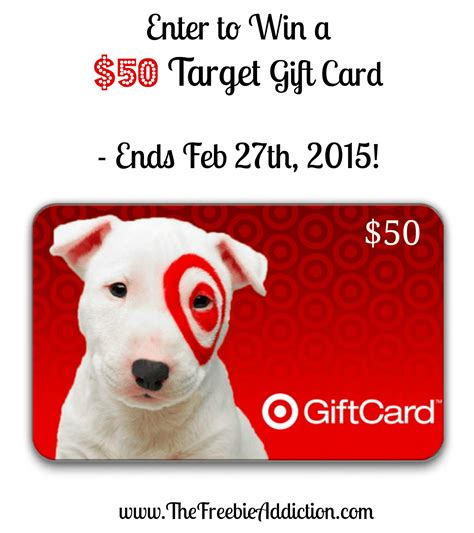 Win Target Gift Card - win a 50 target gift card giveaway ends 2 27