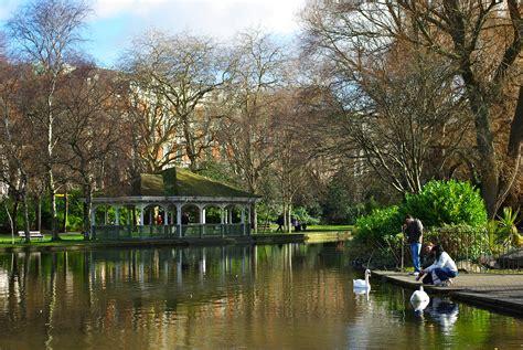 st s st stephen s green park in dublin thousand wonders