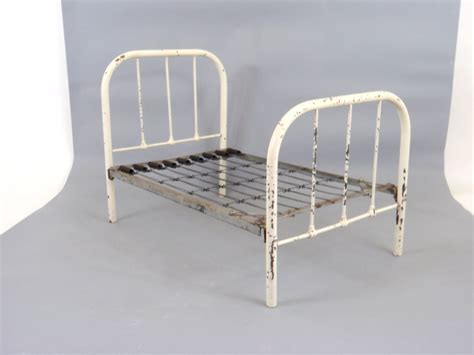 Antique Metal Bed Frame Antique Bed Frame 1920s Metal Bed Miniature Bed Salesman