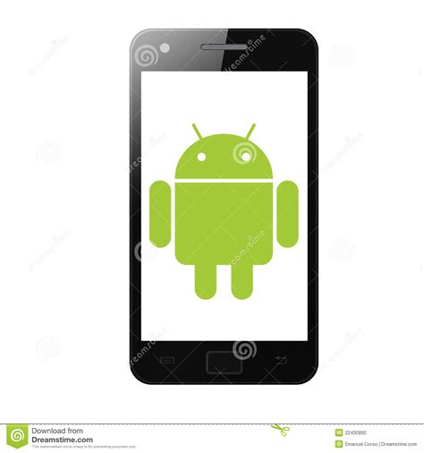 phone icons for android android phone editorial image image 22430890