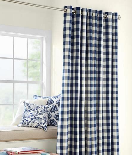 buffalo check curtains black buffalo check grommet top curtains country curtains