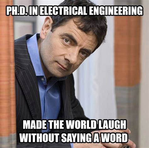 Electrical Engineer Meme - mr bean