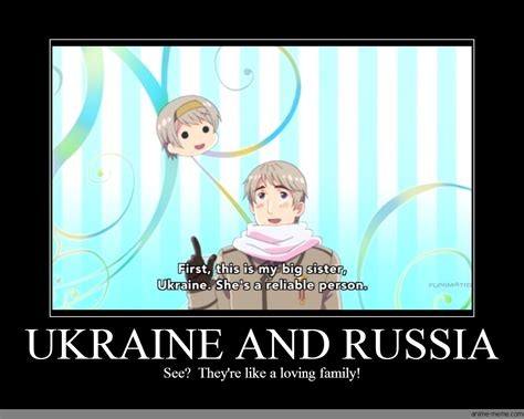 Ukraine Meme - ukraine and russia anime meme com