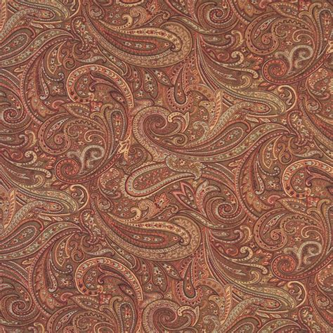 Upholstery Fabric by F326 Traditional Paisley Upholstery Fabric Traditional