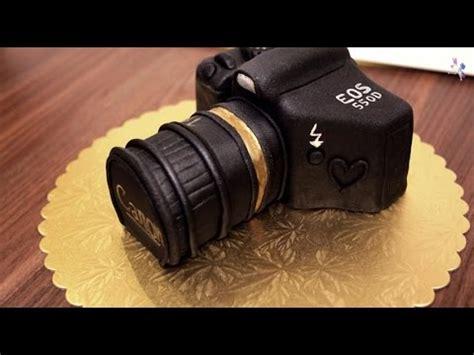 Canon Kamera Torte Cake Tutorial Canon Kuchen