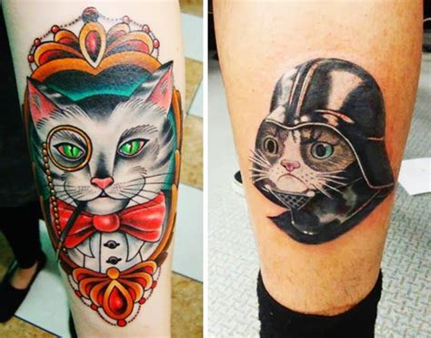 9gag cat tattoo i used to be scared of cats top 10 cat tatts grumpy cat