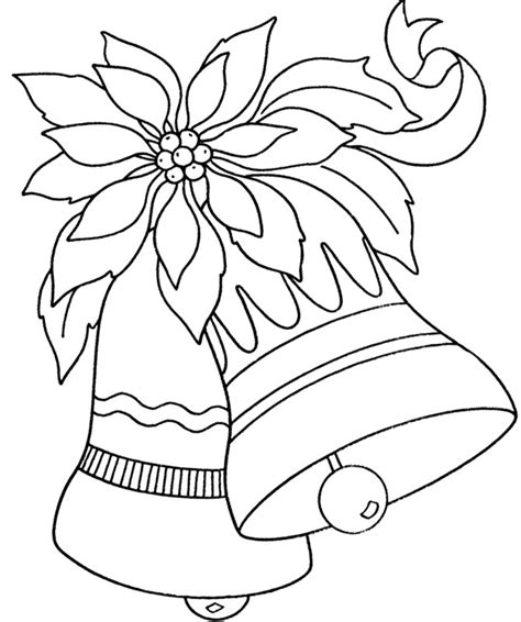 large ornament coloring page christmas bell ornaments large flowers with coloring for