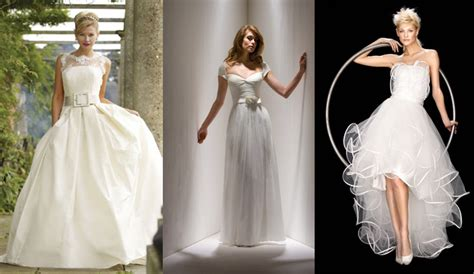 5 Wedding Gown Trends For 2010 by Top Six Wedding Dress Trends For 2009 2010 Wedding Gown Town
