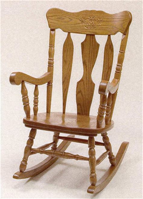 Oak Rocking Chairs by Ohio Amish Furniture Index Arts In Heaven