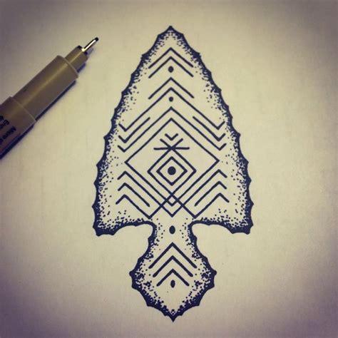 arrowhead tattoo arrowhead
