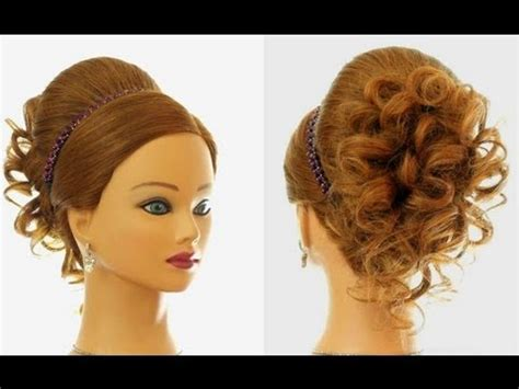 bridal hairstyles on youtube wedding prom hairstyle for long hair updo tutorial youtube