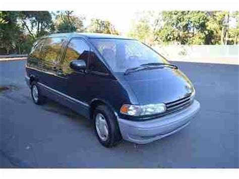 car owners manuals for sale 1997 toyota previa engine buy used 1997 toyota previa awd supercharged no reserve in philadelphia pennsylvania united states