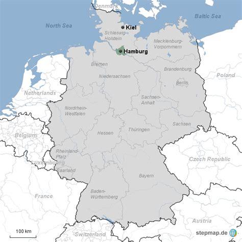 Deutsches Büro Grüne Karte Hamburg hamburg1a jenni g landkarte f 252 r deutschland