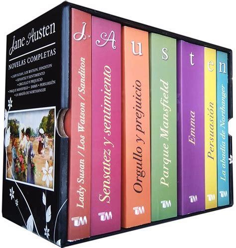 libro coleccin integral de jane paq 7 libros jane austen orgullo y prejuicio incluido 955 00 en mercado libre