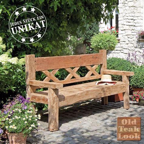 Lounge Aus Europaletten 874 by Gartenbank Aus Recyceltem Teakholz Garten