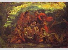 Pieta by Eugène Delacroix Eugene