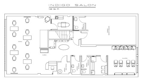 Hair Salon Floor Plans by Sle Floor Plan Salon Designs
