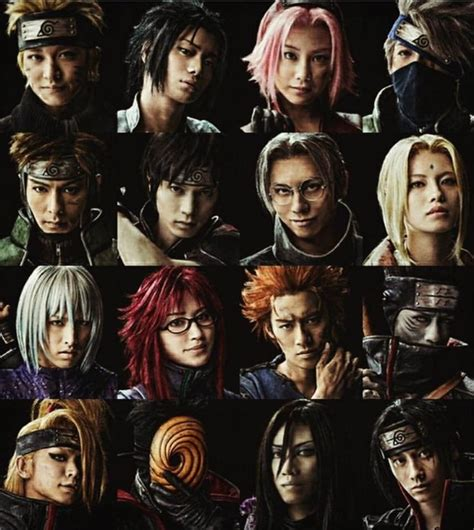 film naruto 2017 pics live spectacle naruto stage musical 2017 actors