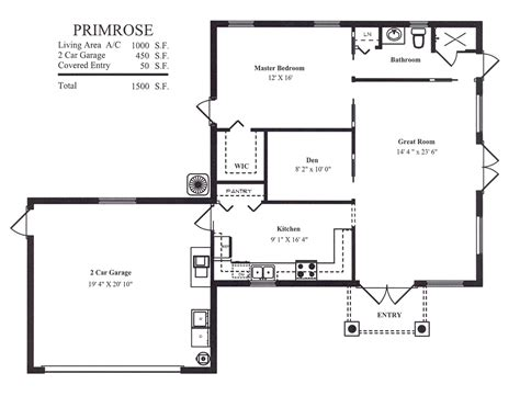 garage homes floor plans garage floor plans detached garage building plans modern