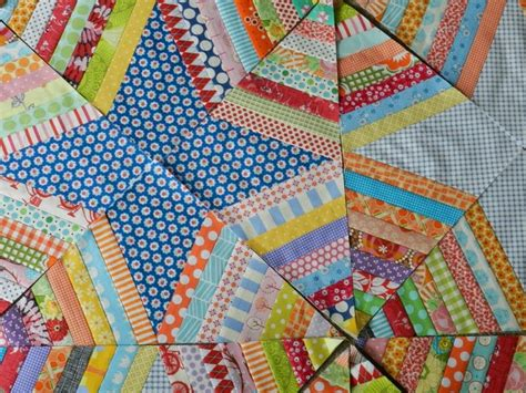 spider web scrappy string quilt quilts