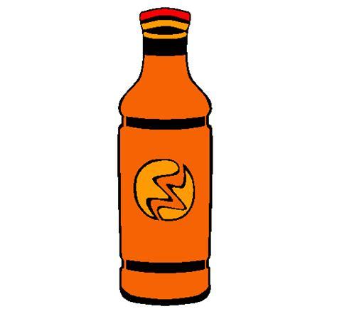 dibujos realistas botella dibujo de botella de refresco pintado por lullanita en