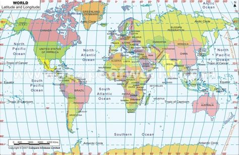 map of the world to show where you been geography 7 lab 1