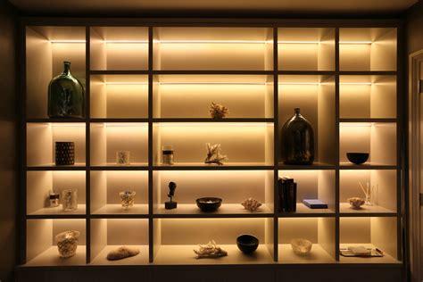 using led lights shelf and display lighting using led contour strips