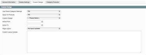 magento category custom layout update exle magento categories tutorial in version 1 8 1 trellis