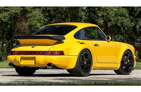 porsche ruf yellowbird 1992 porsche 911 turbo ruf yellowbird