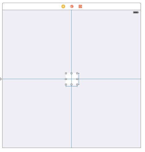 xcode vertical layout xcode use auto layout to position button near the center