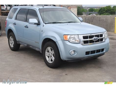 2008 Ford Escape Hybrid In Light Blue C38326
