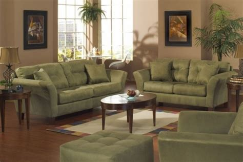 Green Living Room Chairs Green Living Room Set Modern House