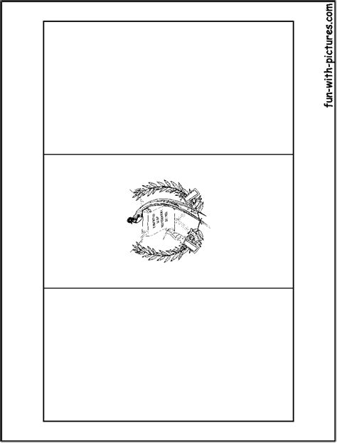 free coloring pages of map guatemala