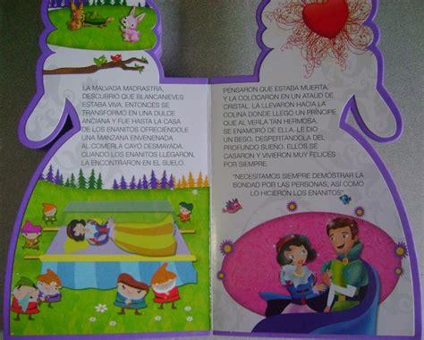 libro cuentos para nios de como elaborar un libro de cuentos manualidades para nios cuento blancanieves troquelado en goma