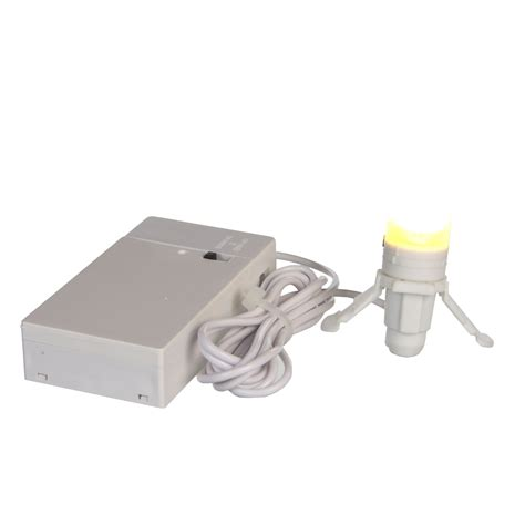 light bulb battery operated with adapter connection