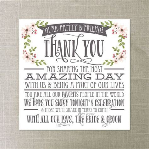 thank you letter after attending wedding 25 best ideas about wedding thank you on
