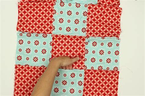 Nine Patch Quilt Tutorial by Pockets Nine Patch Quilt Block Tutorial Weallsew