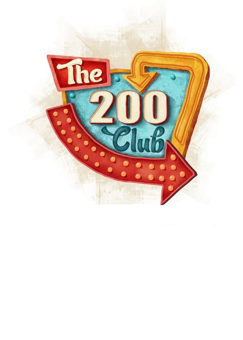 The 200 Club   PT Design & Illustration