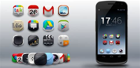 best icon packs for android top 6 best icon sets for android weekly kickedface