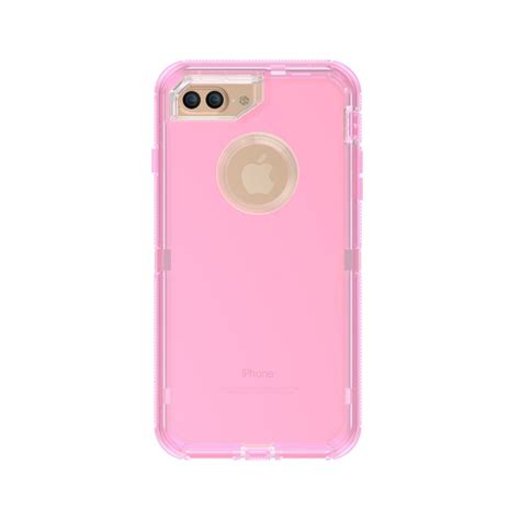 wholesale iphone       transparent armor defender case pink
