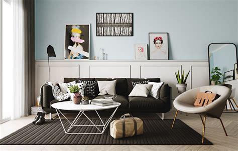 ways   pastel colors  scandinavian living rooms