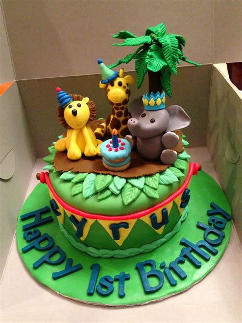 joyce gourmet baby animals  cyrus  birthday cake