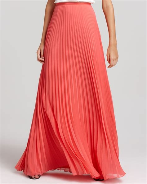 25 best ideas about coral maxi skirts on