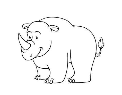 imagenes para colorear rinoceronte desenho de um rinoceronte para colorir colorir com