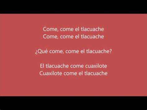 poemas indigenas trabalenguas del tlacuache trabalenguas en n 225 huatl youtube