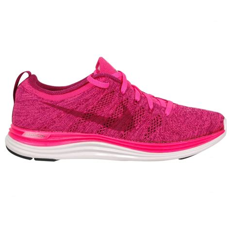 pink running shoes nike flyknit lunar 1 s running shoe pink