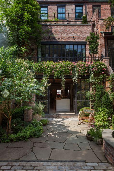 Garden Manhattan by Manhattan Townhouse Susan Wisniewski Landscape Llc Archinect