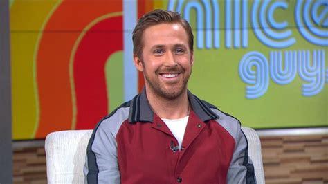 new guys on gma ryan gosling talks the nice guys on gma video abc news
